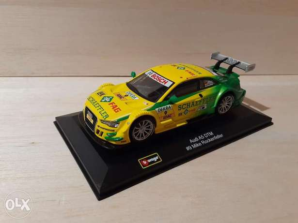 Audi A5 DTM #9 Mike Rockenfeller diecast car model 1:32
