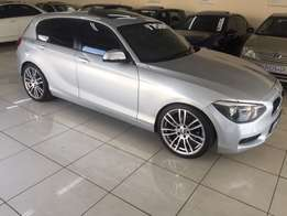 2013 BMW 120d auto with sunroof