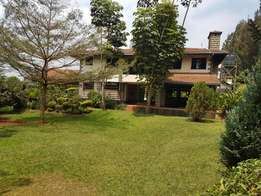 Runda 4bdrm double storey house; to let