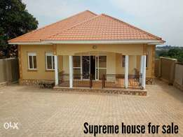 Supreme house ready for sale in Kira with ready title and nice finishe