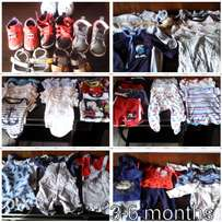 baby boy clothing, bath and changing mat for sale
