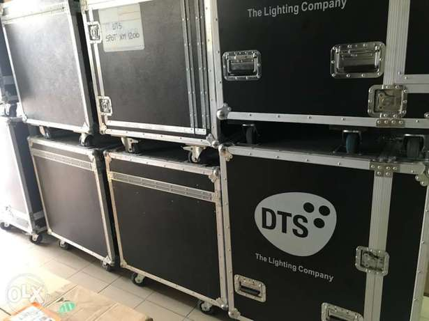 Flightcase for light and sound