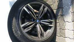 Bmw 18inch mags and tyrs