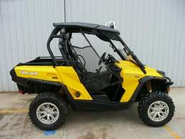 New performance canam commander