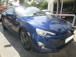 Toyota 86 2.0 High Spec Manual, 2013 Model, 65000km, Blue Colour