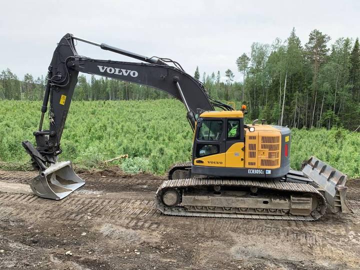 Volvo Ecr305cl -12 Schaktblad 895000:-+m - 2012