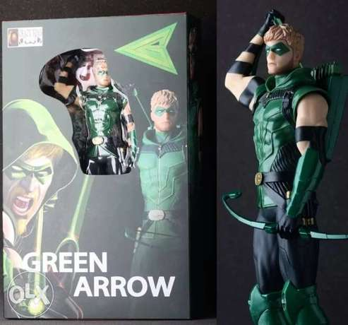 28 cm green arrow action figure