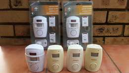 6 x Wireless Motion Sensor Alarms.