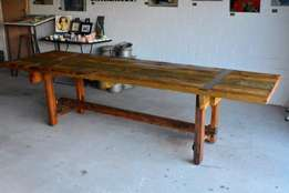 Hand crafted 8 seater dining room table for sale