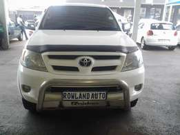 2007 Toyota Hilux 2.7 wti double cab for sale R175 000