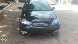 2003 Toyota Corola Sport (Foreign Used)