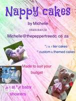 Nappy cakes / baby shower gifts