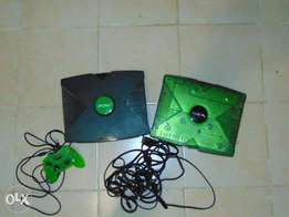 Two original Xbox. One Halo special edition.