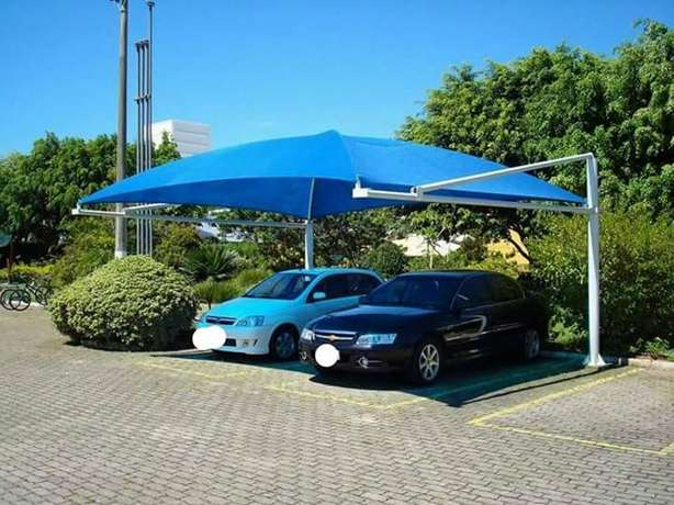 Royal blue car parking shade Karen - image 1