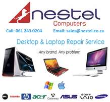 We repair all laptops, desktops, tablets and all IT equipments