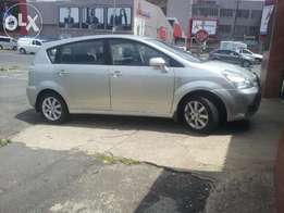 2007 toyota verso 1.6(suv),gold,for sale