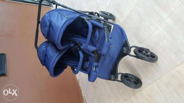 Stroller for twins German Made New ever used ,not a single time