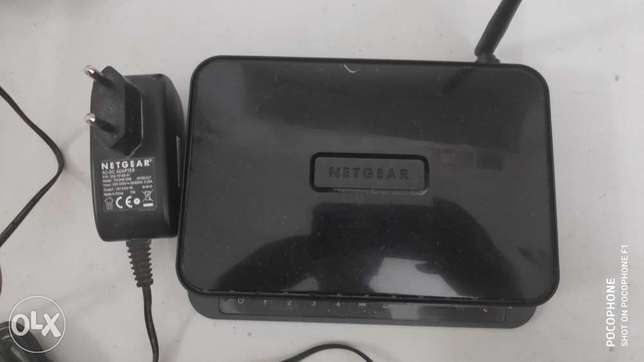 Net gear n 150 wireless modem router
