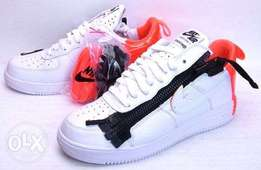 Nike lunar Force white sneakers