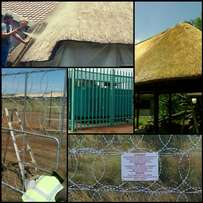 Thatch, Fireproofing, Fence