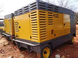 Mobile Air Compressors : 140CFM -1000CFM