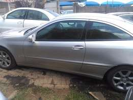 Mercedes-Benz C230 Coupe stripping for spares