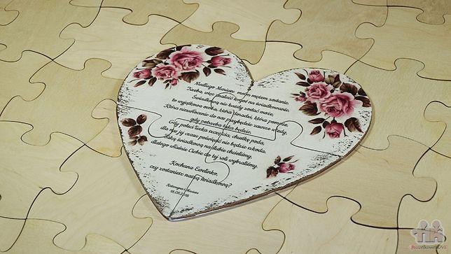 Zaproszenie Dla świadka Puzzle Budziszewice Olxpl