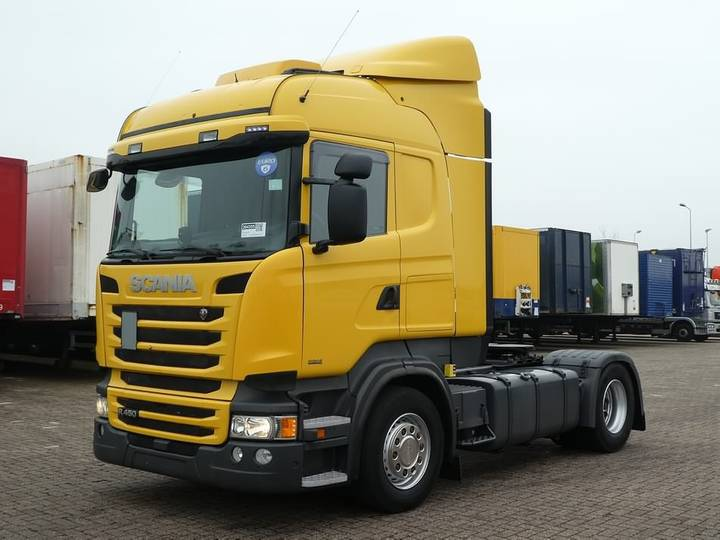 Scania R450 hl ret. 2x tank - 2013