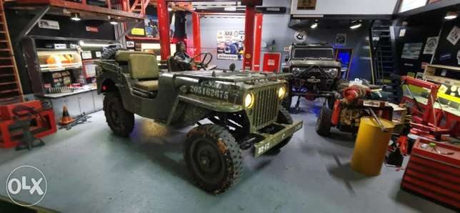 1/6 willys full lock 4x4