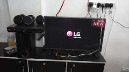 32 inches Digital & Satellite and LG Home theater system
