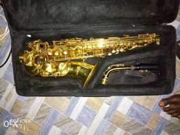 Fairly used alto sax
