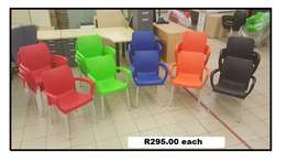 Plastic chairs (new) for sale