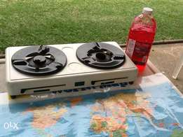 Two plate gel stove
