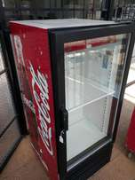Small Coke display fridge