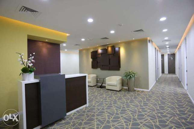 Licensed and fully furnished office for rent!
