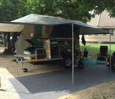 2015 Echo 5 4x4 Off-road Camping Trailer