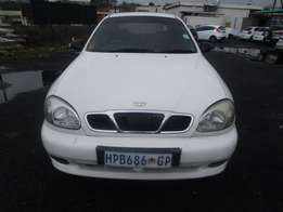 Lanos Daewoo, 1.4is, 1999 model, 116000km, 4-door, factory a/c, c/d pl
