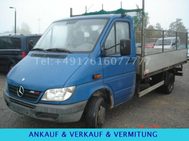 Mercedes-Benz 416 CDI Sprinter Euro 4 Kipper - 2003