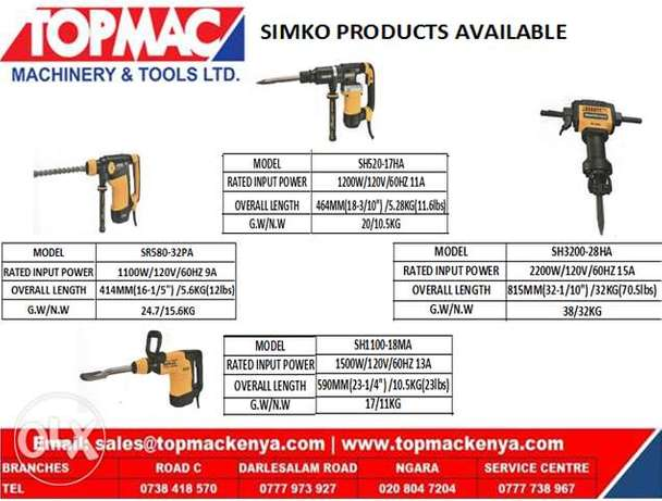 simko power tools Ngara - image 1