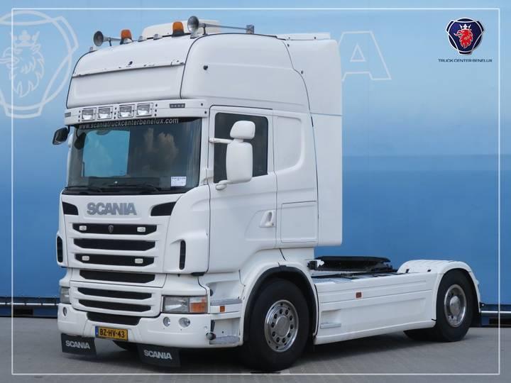 Scania R480 LA4X2MNA   Blower   Hydraulic   PTO   Navi - 2011