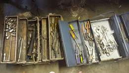 Toolboxes with Tools