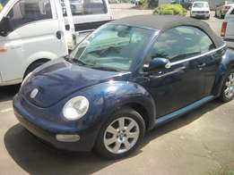 2004 VW Beetle Convertable