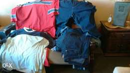 14 pairs of Jeans and Pants mixed size 5X Large