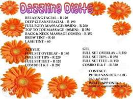 Dazzling Digits Beauty Services