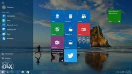 WINDOWS 10 Genuine, Office 2016, Corel Draw, any program installation