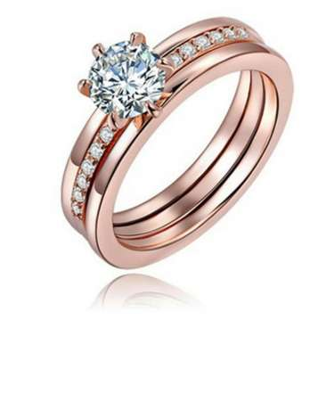 ROXI Top Quality 18K Rose Gold Plated Ring Kasarani - image 3