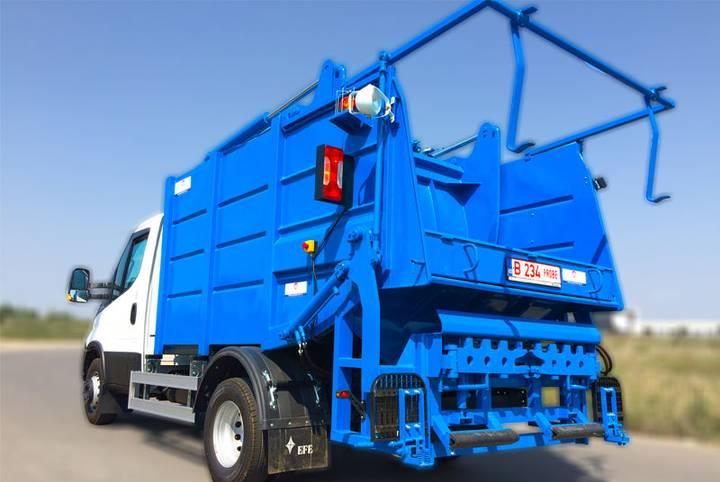 Packer COMPACTOARE Mini  fixa pe sasiu garbage truck