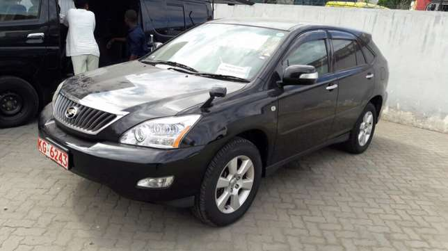 Toyota harrier mettalic black 2010 model Mombasa Island - image 8