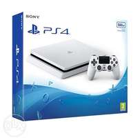 Playstation 4 500gb brand new white limited edition