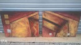 2 x Canvas Paintings